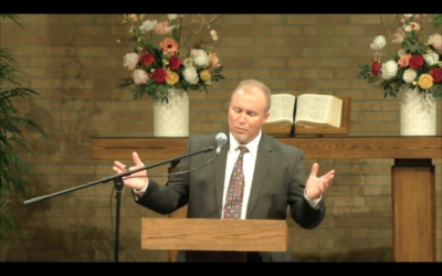 Message at Funeral Service for Pastor Werdal